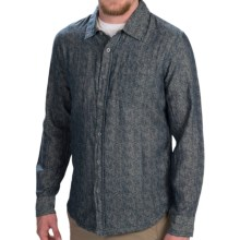Gramicci Davis Double-Layer Chambray Shirt - Button Front, Long Sleeve (For Men) in New Navy - Closeouts