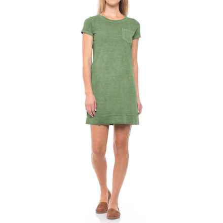 Gramicci De La Vina Dress - Hemp-Organic Cotton, Short Sleeve (For Women) in Olive Bronze - Closeouts