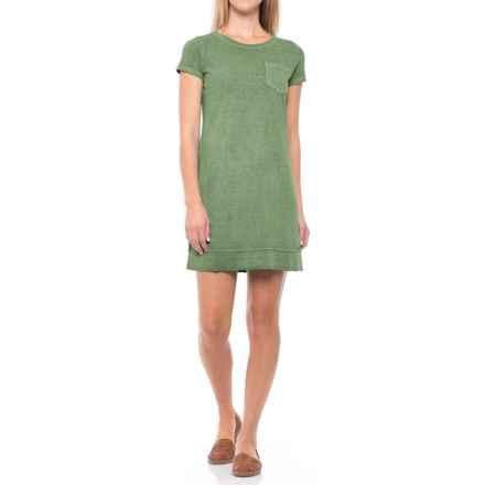 Gramicci De La Vina Dress - Hemp-Organic Cotton, Short Sleeve (For Women) in Olive Bronze - Closeouts