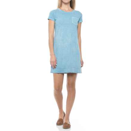 Gramicci De La Vina Dress - Hemp-Organic Cotton, Short Sleeve (For Women) in Pool Blue - Closeouts
