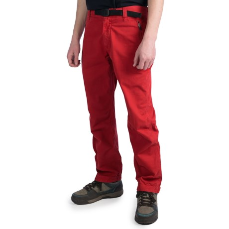 Gramicci Delano Pants (For Men) in Deep Red