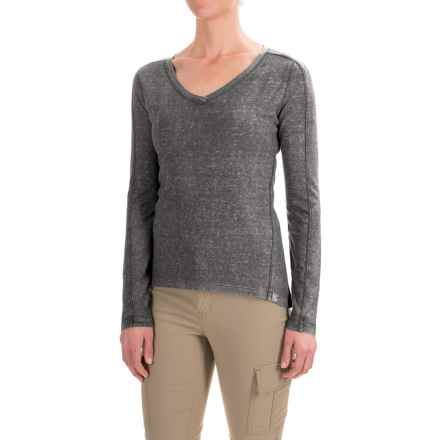 Gramicci Delia Shirt - Hemp-Organic Cotton, Long Sleeve (For Women) in Asphalt Grey - Closeouts