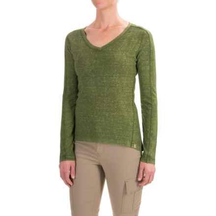Gramicci Delia Shirt - Hemp-Organic Cotton, Long Sleeve (For Women) in Chive - Closeouts