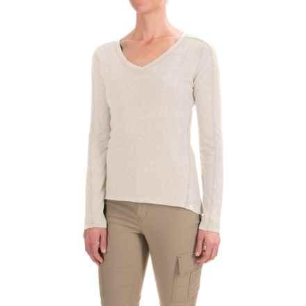 Gramicci Delia Shirt - Hemp-Organic Cotton, Long Sleeve (For Women) in Natural - Closeouts