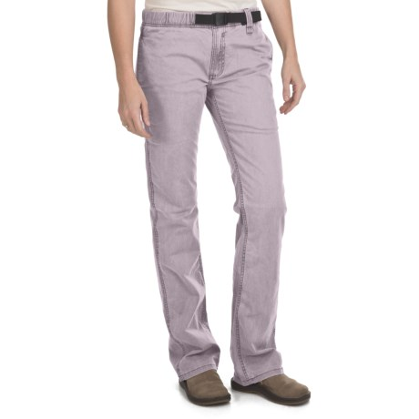 Gramicci Delmas Pants - Peached Twill (For Women) in Lilac Marble