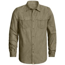 Gramicci Dexter Shirt - Long Sleeve (For Men) in Fatigue Green - Closeouts