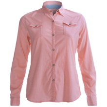 Gramicci Didra Marina Chambray Shirt - Long Sleeve (For Women) in Lobster Bisque - Closeouts