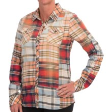 Gramicci Dolly Patchwork Flannel Shirt - Long Sleeve (For Women) in Multi - Closeouts