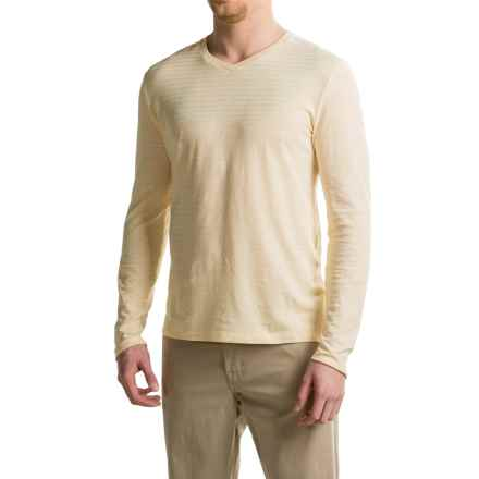 Gramicci Drake Hemp-Organic Cotton Shirt - V-Neck, Long Sleeve (For Men) in Natural - Closeouts
