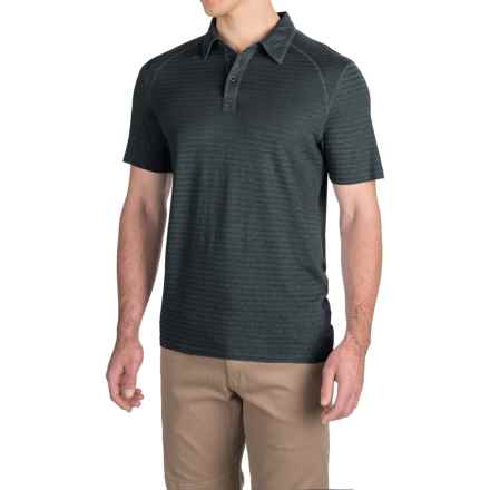 Gramicci Drake Polo Shirt - Short Sleeve (For Men) in Black - Closeouts