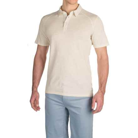 Gramicci Drake Polo Shirt - Short Sleeve (For Men) in Off White - Closeouts