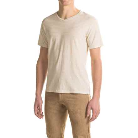 Gramicci Drake V-Neck T-Shirt - UPF 20, Hemp-Organic Cotton, Short Sleeve (For Men) in Off White - Closeouts