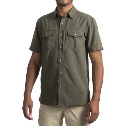 Gramicci El Dorado Canyon Shirt - UPF 30+, Short Sleeve (For Men) in Olive Leaf - Closeouts