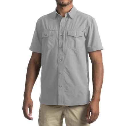 Gramicci El Dorado Canyon Shirt - UPF 30+, Short Sleeve (For Men) in Stainless Steel - Closeouts