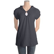 Gramicci Elise Shirt - Hemp-Organic Cotton, Short Sleeve (For Women) in Jet Black - Closeouts