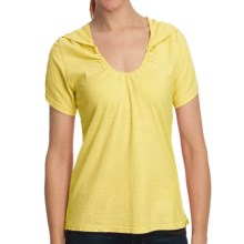 Gramicci Elise Shirt - Hemp-Organic Cotton, Short Sleeve (For Women) in Lemon Drop - Closeouts