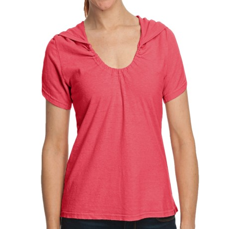 Gramicci Elise Shirt - Hemp-Organic Cotton, Short Sleeve (For Women) in Rose Of Sharon