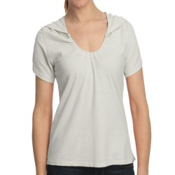 Gramicci Elise Shirt - Hemp-Organic Cotton, Short Sleeve (For Women) in Cloud White