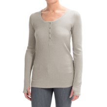 Gramicci Ellie Thermal Henley Shirt - UPF 20, Long Sleeve (For Women) in Heather - Closeouts
