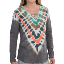Gramicci Ellie Tie-Dye Sweatshirt (For Women) in Flannel Grey - Closeouts