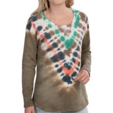 Gramicci Ellie Tie-Dye Sweatshirt (For Women) in Green Sparrow - Closeouts