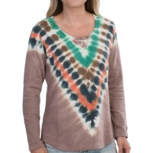 Gramicci Ellie Tie-Dye Sweatshirt (For Women) in Ice Mocha - Closeouts