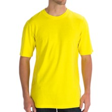 Gramicci Endurance T-Shirt - UPF 20, Hemp-Organic Cotton, Short Sleeve (For Men) in Butter Cup - Closeouts