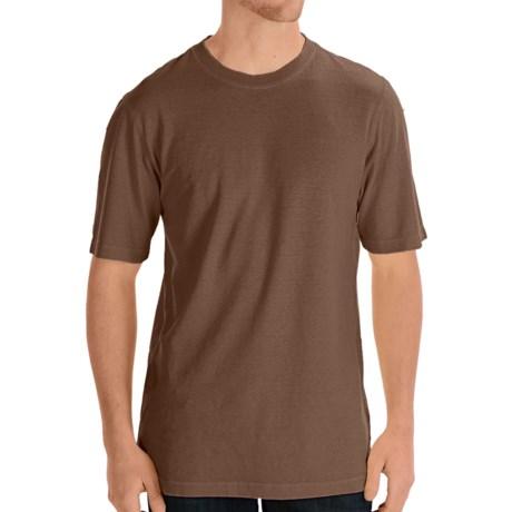 Gramicci Endurance T-Shirt - UPF 20, Hemp-Organic Cotton, Short Sleeve (For Men) in Dark Earth