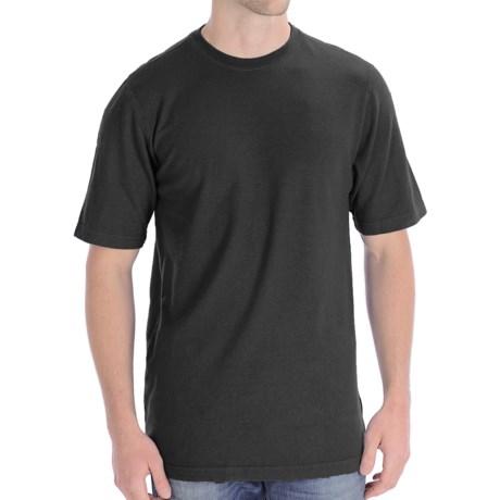 Gramicci Endurance T-Shirt - UPF 20, Hemp-Organic Cotton, Short Sleeve (For Men) in Jet Black