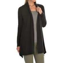 Gramicci Enza Hemp-Organic Cotton Wrap - UPF 20+, Long Sleeve (For Women) in Black - Closeouts