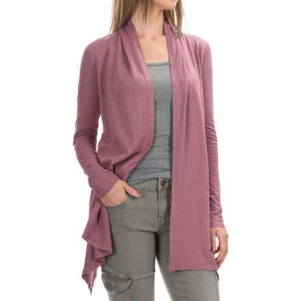 Gramicci Enza Hemp-Organic Cotton Wrap - UPF 20+, Long Sleeve (For Women) in Grape Nectar - Closeouts