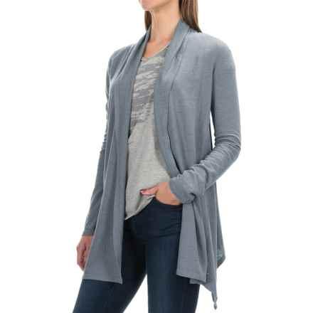Gramicci Enza Hemp-Organic Cotton Wrap - UPF 20+, Long Sleeve (For Women) in Laguna Blue - Closeouts