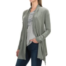 Gramicci Enza Hemp-Organic Cotton Wrap - UPF 20+, Long Sleeve (For Women) in Thyme - Closeouts