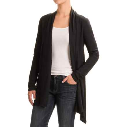 Gramicci Enza Wrap Sweater - UPF 20, Hemp-Organic Cotton (For Women) in Black - Closeouts