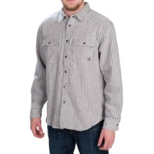 Gramicci Expedition Flannel Shirt Jacket - Long Sleeve (For Men) in New Navy - Closeouts