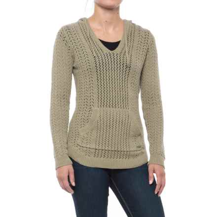 Gramicci Farrah Cover-Up Hoodie Sweater (For Women) in Pale Sage - Closeouts