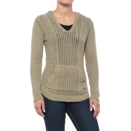 Gramicci Farrah Cover-Up Hoodie Sweater (For Women) in Pale Sage