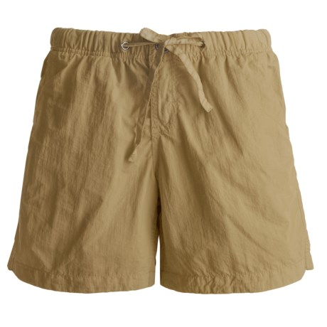 Gramicci Free Stride Shorts - UPF 30, Quick Dry (For Women) in Gold