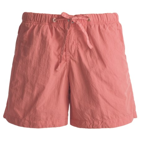 Gramicci Free Stride Shorts - UPF 30, Quick Dry (For Women) in Lobster Bisque