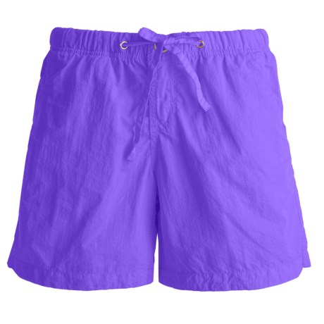 Gramicci Free Stride Shorts - UPF 30, Quick Dry (For Women) in Periwinnkle