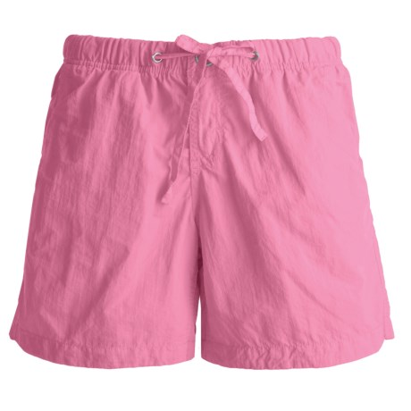 Gramicci Free Stride Shorts - UPF 30, Quick Dry (For Women) in Rose Of Sharon