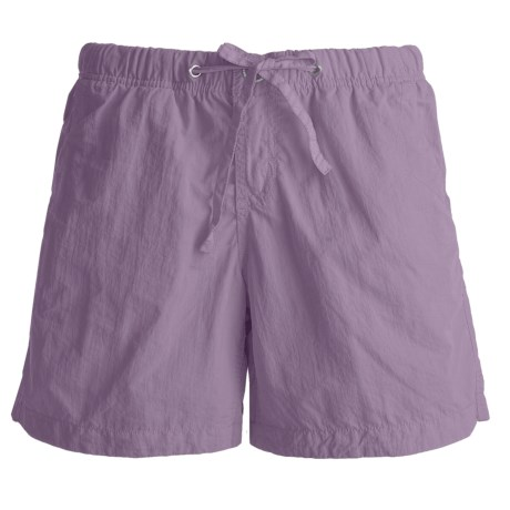 Gramicci Free Stride Shorts - UPF 30, Quick Dry (For Women) in Violet Bloom