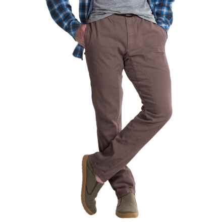 Gramicci Freedom G Pants - Elastic Waist (For Men) in Mud Brown - Closeouts