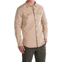 Gramicci Freedom G Shirt - Snap Front, Long Sleeve (For Men) in Beach Khaki - Closeouts