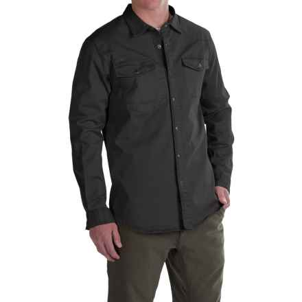 Gramicci Freedom G Shirt - Snap Front, Long Sleeve (For Men) in Black - Closeouts
