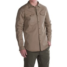 Gramicci Freedom G Shirt - Snap Front, Long Sleeve (For Men) in Dark Khaki - Closeouts