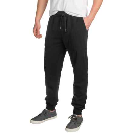 Gramicci Funday Fleece Pants - Organic Cotton (For Men) in Black - Closeouts