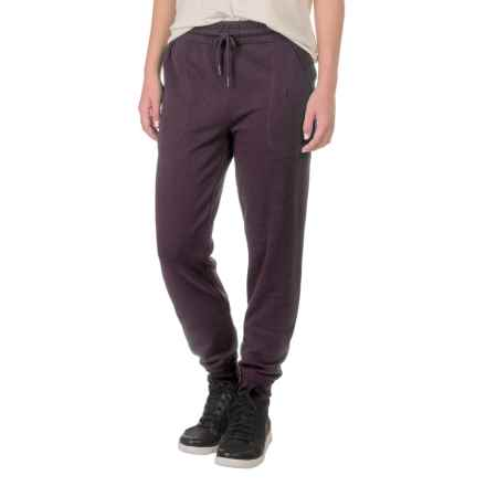 Gramicci Funday Fleece Pants - Organic Cotton (For Women) in Purple Rein - Closeouts