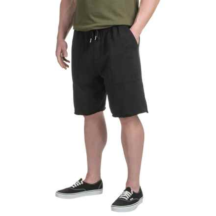 Gramicci Funday Fleece Shorts - Organic Cotton Blend (For Men) in Black - Closeouts
