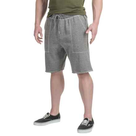 Gramicci Funday Fleece Shorts - Organic Cotton Blend (For Men) in Mid Grey - Closeouts